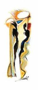 Disco Fever Art Print - Alfred Gockel
