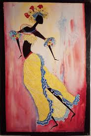 Cuban Carnival Dancer Art print--Augusta Asberry