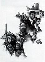 Black American Dream Art Print--JC Bakari