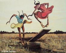 Springboard Art Print-- Ernie Barnes