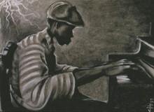 Late Night Study Limited Edition Art Print-- Cbabi Bayoc