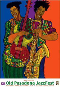 Color of Jazz (Signed) Art Print--Charles Bibbs