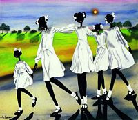 CareFree Art Print--Leroy Campbell