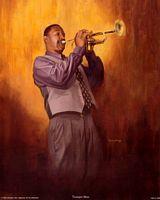 Trumpet Man  Art Print--Jason Delancey