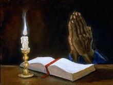 Praying Hands Art Print-- Ted Ellis