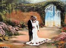 The Wedding Art Print-- Ted Ellis