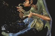 Live Sax Art Print--David Garibaldi