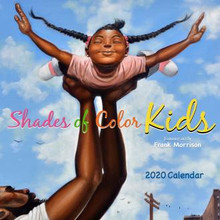 Shades of Color Kids 2020 African American Wall Calendar--Frank Morrison