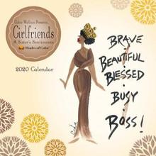 Girlfriends, A Sister's Sentiments 2020 Wall Calendar--Cidne Wallace