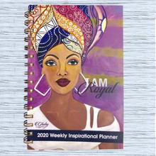 "I Am Royal 2020 Inspirational Weekly Planner--Sylvia""GBaby""Cohen"