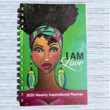 "I Am Love 2020 Inspirational Weekly Planner--Sylvia""GBaby""Cohen"
