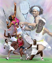 Ladies of the Court Art Print-- Wishum Gregory