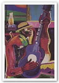 """Skip James"" Limited Edition Art Print - George Hunt"