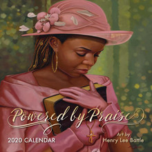 Powered By Praise 2020 African American Wall Calendar --Henry Battle