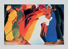 Dancing for the Lord Art Print - Bernard Hoyes
