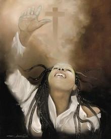 Spiritual Awakening (mini) Art Print - Edwin Lester