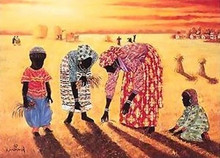 Harvest Art Print - Hulis Mavruk