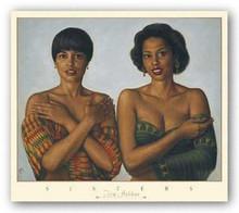 Sisters art print by Tim Ashkar