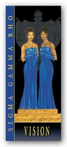 Vision - Sigma Gamma Rho Art Print - Johnny Myers