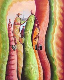 Psalm 122:1 Art Print - Okaybabs