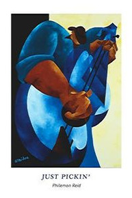 Just Pickin' (24 x 36) Art Print - Philemon Reid