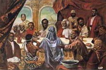 Last Supper art print - Large by Cornell Barnes