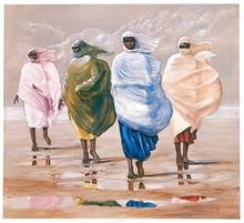 The Islanders Art Print - Lavarne Ross