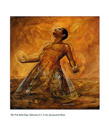 On the Sixth Day (mini) Art Print - Lavarne Ross