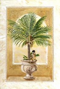 Monkey Palm I Art Print - Katherine Roundtree