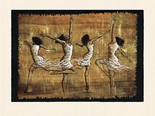 Rejoice! (20 x 16) Art Print - Monica Stewart
