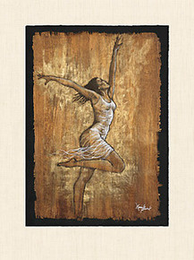 Dance of Joy I Art Print - Monica Stewart