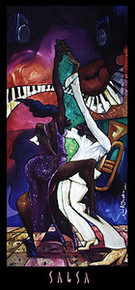 Salsa Art Print - Michael Wallace