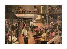 Jazz from the Cellar (mini) Art Print - Ernest Watson