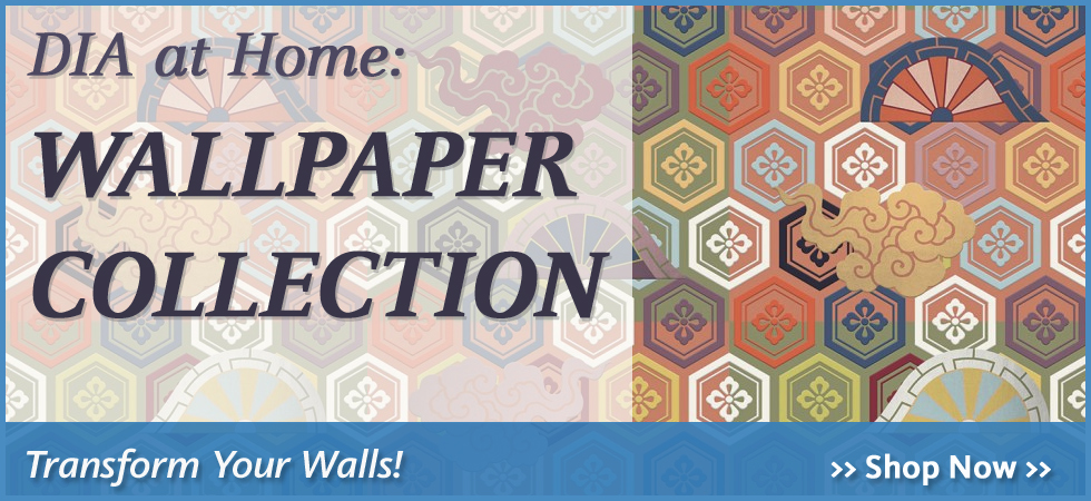 Bring the DIA into your home with a wallpaper mural featuring artworks from the collection of the Detroit Institute of Arts.