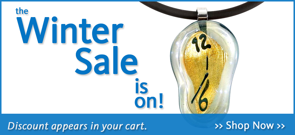 Save up to 50% on holiday items, jewelry, books and more during the DIA Shop's Winter Sale.