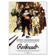 Rembrandt Coloring Book