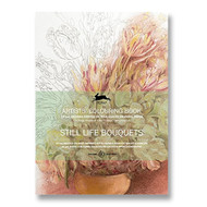 Still Life Bouquets Coloring Book