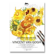 XL Van Gogh Coloring Book