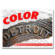 Color Detroit Coloring Book