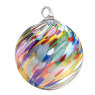 "Circus Twist Classic 3"" Glass Ornament"