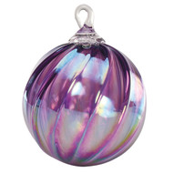 "Amethyst 3"" Glass Ornament"