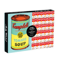 Warhol 2-Sided Soup Can Puzzle