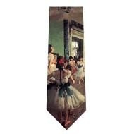Degas Dance Class Silk Tie