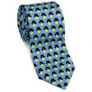 Apples & Hats Silk Tie