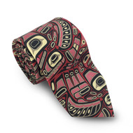 Red Thunderbirds Silk Tie