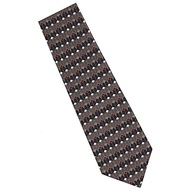 Frank Lloyd Wright Black Dining Room Window Silk Tie