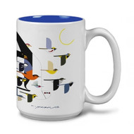 Charley Harper Missing Migrants Grande Mug