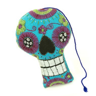 Sugar Skull Calavera Pillow