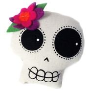 Calavera Girl Head