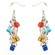Dancing Cube Earrings